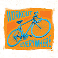 Bicycle Workout Poster