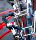 Bicycles details Stock Photos