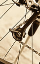 Bicycles gear Royalty Free Stock Photo