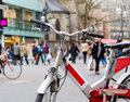 Bicyclette de ville Photo stock