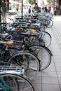 Bicyclettes Photos stock