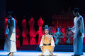 "bid goodbye in a kneeling position-The emperor's wedding-Jiangxi opera ""Red pearl"""