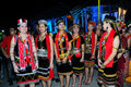 Bidayuh Maidens Stock Photo