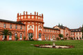 Biebrich Palace in Wiesbaden Stock Photography