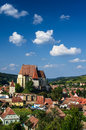 Biertan fortified church transylvania is one of the most important saxon villages with churches in romania Royalty Free Stock Photography