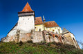 Biertan fortified church in transylvania romania is with three protecting walls one of most important saxon villagesin Royalty Free Stock Images