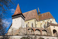 Biertan transylvania view of the fortified church in romania Royalty Free Stock Photos