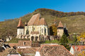 Biertan transylvania view of the fortified church in romania Royalty Free Stock Images