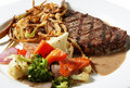 Bife de New York Imagem de Stock Royalty Free
