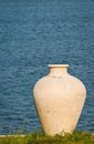 Big ancient vase in greek style Royalty Free Stock Photos