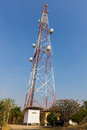 The big antenna with clear sky Royalty Free Stock Image