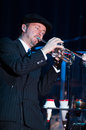 Big Bad Voodoo Daddy Royalty Free Stock Photography