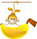 Big banana Royalty Free Stock Photography
