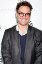 Big bang johnny galecki arriving at the theory paleyfest event on april at the arclight theaters in los angeles california Royalty Free Stock Images