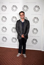 Big bang johnny galecki arriving at the theory paleyfest event on april at the arclight theaters in los angeles california Stock Images