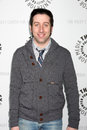 Big bang simon helberg arriving at the theory paleyfest event on april at the arclight theaters in los angeles california Royalty Free Stock Images