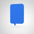 Big Banner - vertical blue Royalty Free Stock Photo