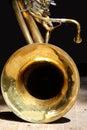 Big Bass Tuba Royalty Free Stock Photo