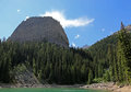 Big Beehive and Mirror Lake Royalty Free Stock Photo