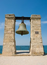 Big bell in the Chersonesus in Crimea Royalty Free Stock Photo