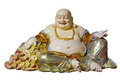 Big Belly Maitreya Cloth Bag Monk Statue Royalty Free Stock Photo