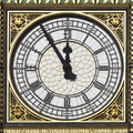 Big Ben - 5 Minutes to 12 Royalty Free Stock Photography