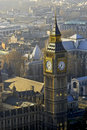 Big Ben from above, London Stock Photography