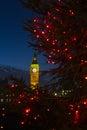 Big Ben At Christmas