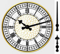 Big ben clock Stock Image