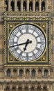Big Ben clock face Royalty Free Stock Photo
