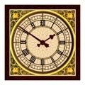 Big Ben at Clock Face Royalty Free Stock Photo