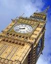 Big Ben clock tower, London England Royalty Free Stock Photo
