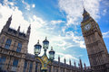 Big Ben clock tower in London, England Royalty Free Stock Photo