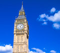 Big Ben clock tower, London Royalty Free Stock Photo