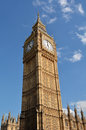 Big Ben clock tower London UK Royalty Free Stock Photo