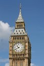 Big ben the clocktower of parliament is one of the best known symbols of london Royalty Free Stock Photography