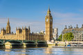 Big Ben and House of Parliament, London, UK Royalty Free Stock Photo