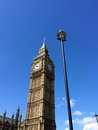 Big ben and houses of parliament in london uk are the most well known symbols Royalty Free Stock Image