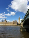 Big ben and houses of parliament in london uk are the most well known symbols Stock Photos