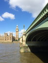 Big ben and houses of parliament in london uk are the most well known symbols Stock Photography