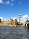 Big ben and houses of parliament in london uk are the most well known symbols Stock Images