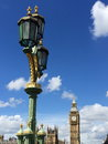 Big ben and houses of parliament in london uk are the most well known symbols Royalty Free Stock Images