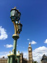 Big ben and houses of parliament in london uk are the most well known symbols Royalty Free Stock Photo