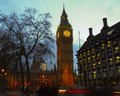 Big ben houses of parliament at twilight Stock Photography