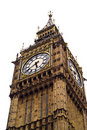 Big Ben isolated Stock Photos