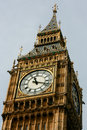 Big Ben Clock Tower London at eleven oclock
