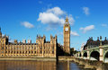 Big ben london Royalty Free Stock Photo