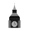 Big ben london city isolated icon Royalty Free Stock Photo