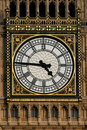 Big Ben London clock closeup Royalty Free Stock Images