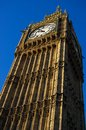 Big Ben in London close up Royalty Free Stock Photos